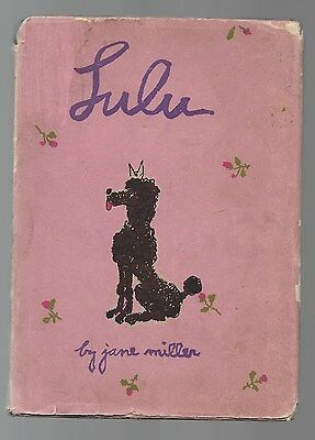 Lulu And What Happened On Christmas Day French Poodle Children's Vintage 1941