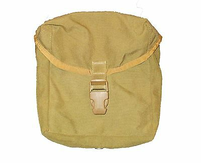 US Military USMC Coyote IFAK First Aid Utility Ammo Pouch 8465-01-539-2732 VG-XC