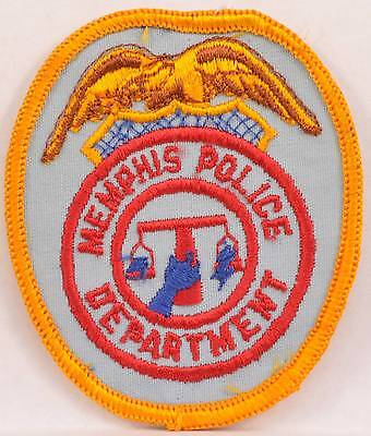 Embroidered Shoulder Patch Memphis Tennessee Police Department LEO Officer