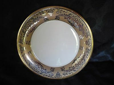 """Lenox China ETERNAL FACETS Accent Luncheon Plate 9 3/8"""" MINT"""