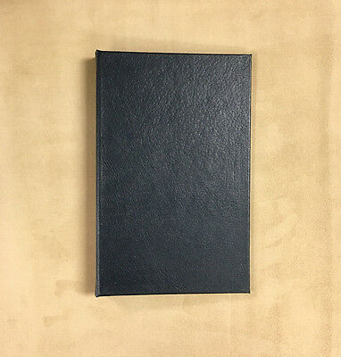 "Springfield Leather Company 15 Pack Navy Hard Back Book Cover 6-1/2""x10-1/4""x1"""