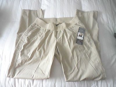 NWT  Oh Baby by Motherhood Maternity Pants  Sz. Large NEW   Beige