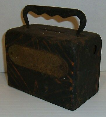 Antique Vintage Paper and Coin Bank