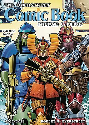 OVERSTREET 2017 2018 COMIC BOOK PRICE GUIDE #47 SOFTCOVER Star Slammers Cover SC
