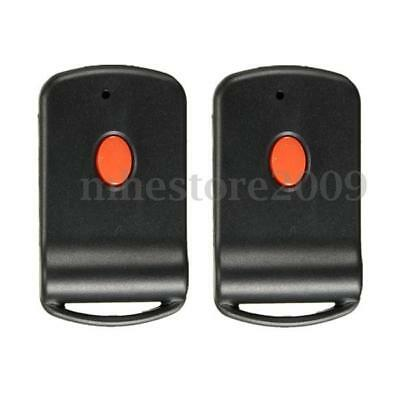 2 Pcs Mini Remote Garage Transmitter For MultiCode 3060 300mhz 3089 4120 Linear