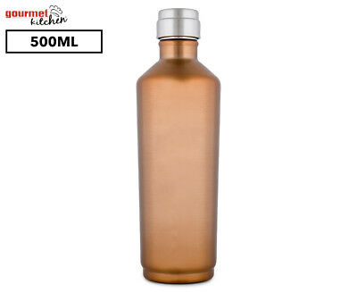 Gourmet Kitchen Double Wall Insulated Water Bottle 500mL - Copper