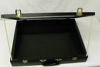 SMALL Trade Show Display case 18 X 22  BLACK