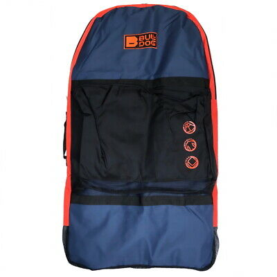 Bulldog Heavy Duty Bodyboard Bag Large Travel Takes up to 3 boogie boards