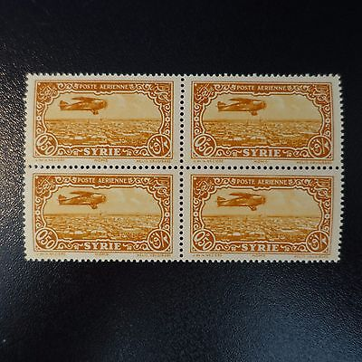 France Colonie Syrie Poste Aerienne Pa N°50 Bloc De 4 Neuf ** Luxe Mnh Cote 7€