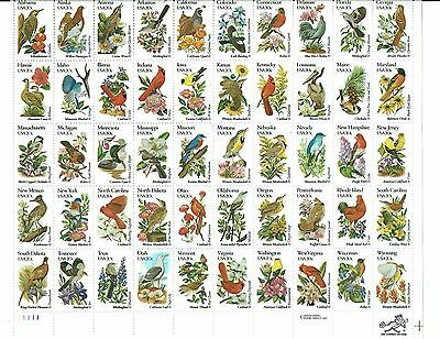 5 Mint Sheets of US Stamps Including 20 Cent State Birds and Flowers Scott 1953-