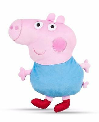 Peppa Pig George Shaped Boys Girls Kids Childrens Soft Comfy Cushion Official