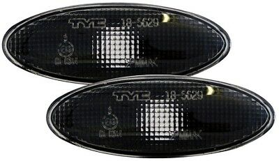 Jaguar Xk Black Side Light Repeater Indicators