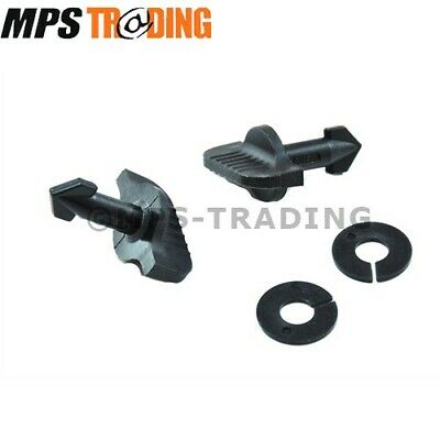 Land Rover Discovery 3 Rear Tow Electrics Cover Easy Turn Clips 2 X Dyr500010Et