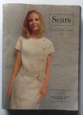 Vintage Sears Spring Through Summer 1968 Catalog / Book Sears Roebuck