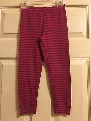 HANNA ANDERSSON Girls Striped Leggings Size 110 5-6