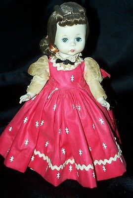 Vintage 1959 Madame Alexander LITTLE WOMEN JO # 481