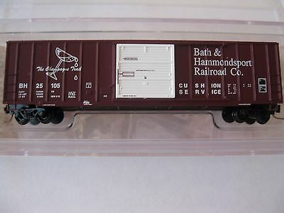 Micro-Trains Stock #51000390 Bath & Hammondsport 50' Box Car #25105 Z-Scale