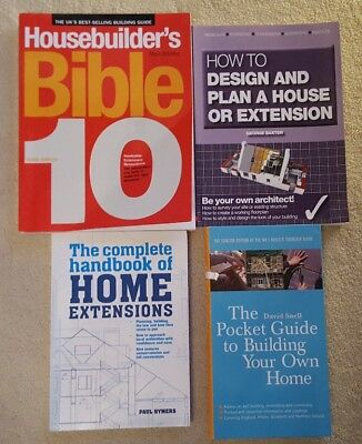 House Builders Bible 10 Book + 3 Other Property Books Home Extension Etc