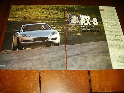 2004 Mazda Rx-8  ***original Article / Specifications***