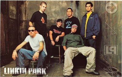 LINKIN PARK ~ WAREHOUSE GROUP 22x34 MUSIC POSTER NEW/ROLLED!