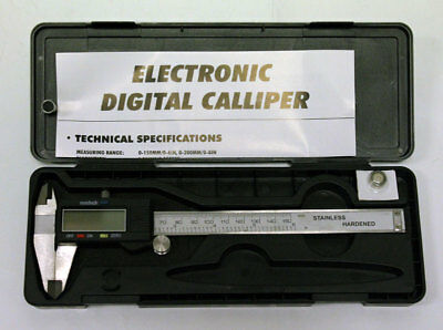 6 inch Digital LCD Caliper/Micrometer Guage Metric/US