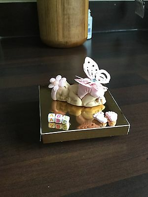 Hand Made Polymer Clay Cute Baby Present