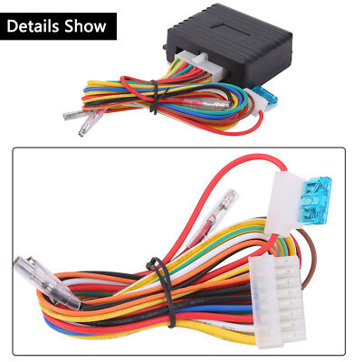 Auto Safety Power Window Roll Up Closer Module for Car Alarm 4 Door 12V CO NEW