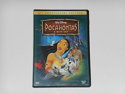 Walt Disney's POCAHONTAS 10th Anniversary Edition 2 Disc DVD Set Movie 2005 OOP