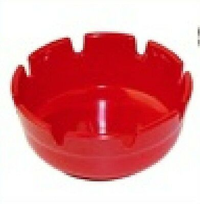 "1 PC Ashtray melamine Plastic Red 4"" Winco MAS-4R NEW"