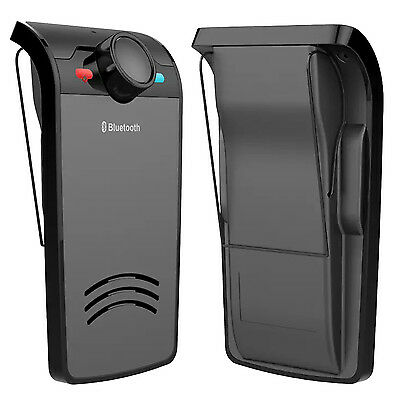 Wireless Hands free Speakerphone Bluetooth Mobile Phone Car Kit Replaces Slim AU