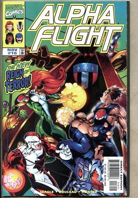 Alpha Flight #16-1998 nm Marvel  / Honey Lemon appearance Big Hero Six 6