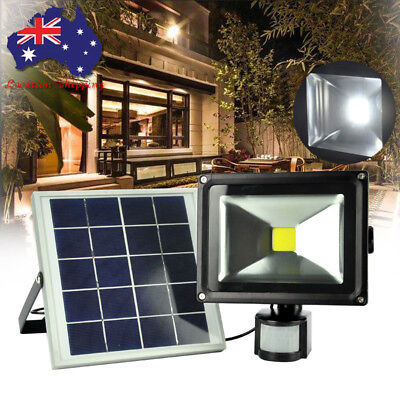 Ultra Bright LED Solar Power Motion Sensor Garden Security Lamp Waterproof Light