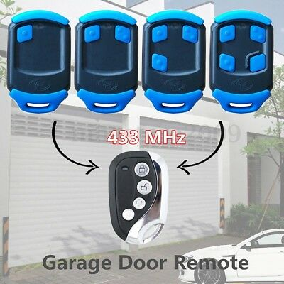 NOVA Blue Gate Garage Remote Control Replacement For 433 MHz Centsys Centurion