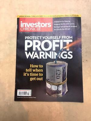 Investors Chronicle Vol201/2557 Protect Yourself Profit Warnings 21-27 July 2017