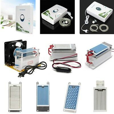 110/220V 10/7g Ozone Generator Air Ozonizer Machines Ceramic Plate Household Car