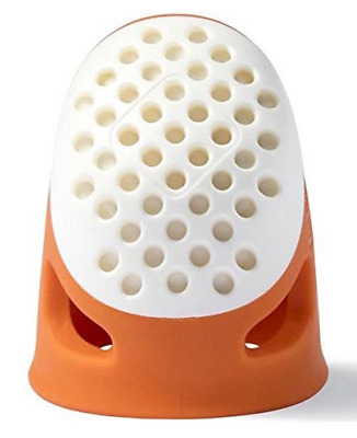 PRYM Ergonomic Thimble Exceptionally Comfortable Functional Thimble ORANGE Small