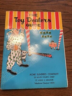 1957-58 The Toy Dealers Guide catalog dolls toys novelties carnivals Daisy AMF