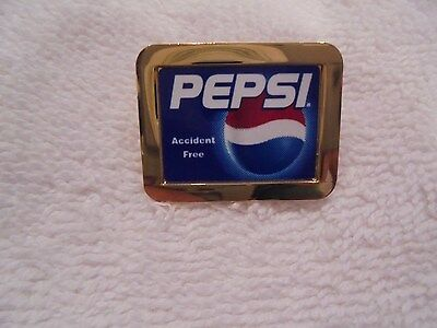 Pepsi Rare Lapel / Hat Pinback Accident Free