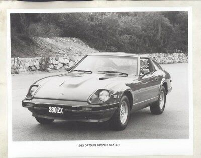1983 Datsun 280ZX ORIGINAL Factory Photograph wy2499