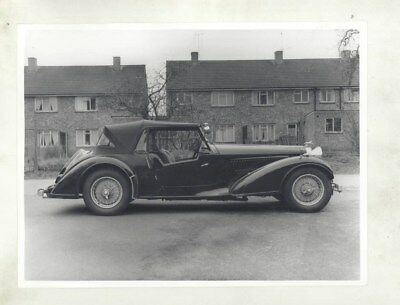 1936 1937 1938 1939 Alvis 4.3 Liter Tourer  ORIGINAL Factory Photograph wy2507