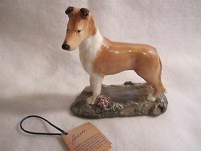"""Ron Hevener Collie Dog Figure, 50/1000, 5 1/2"""" Tall, Free Shipping & Tracking"""