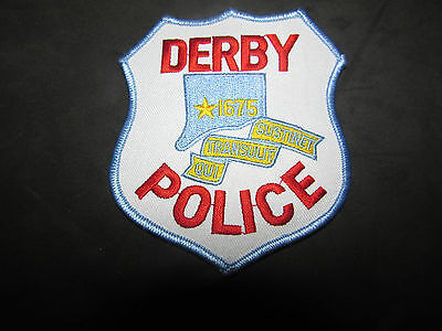 Derby Connecticut Police Patch
