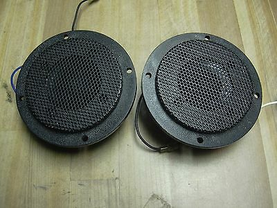 Automatic Radio dome tweeters speakers A8CS-936 JAPAN 8 OHM car audio