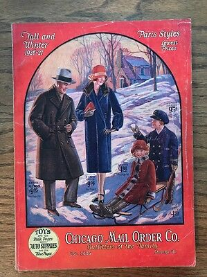 1926-27 Chicago Mail Order Co. catalog vintage clothes toys