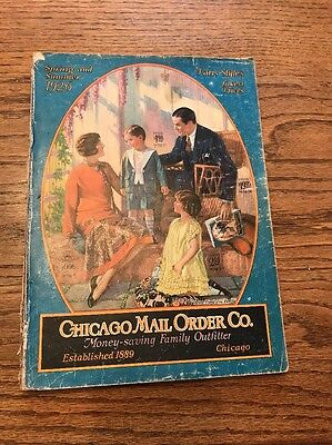 1926 Chicago Mail Order Co. Spring/Summer catalog vintage clothes toys