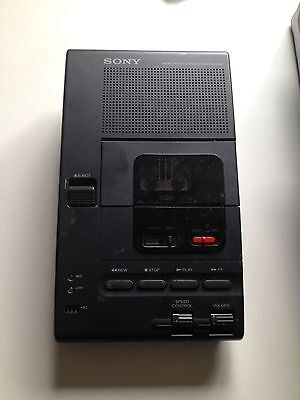 Sony microcassette transcriber M-2000 as-is