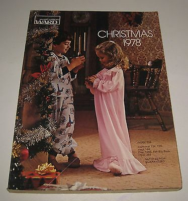 1978 Montgomery Ward Christmas Catalog Toys Dolls Clothes & More #BD98
