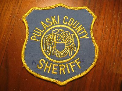 Pulaski County Arkansas Sheriff Police Patch (Important-Read Discription)