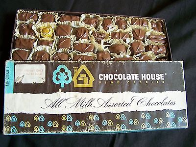 Chocolate House Fine Candies Store Sample Display Box Milwaukee Wisconsin