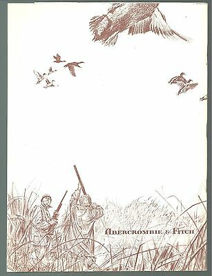 1959 Abercrombie & Fitch~ Hunting, Camping, Clothes Outfitters Vintage Catalogue